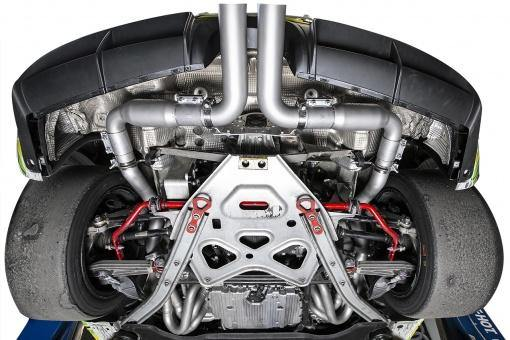 SOUL Performance Porsche 981 GT4 or Boxster Spyder Race Exhaust System-SOUL Performance-MGC Suspensions