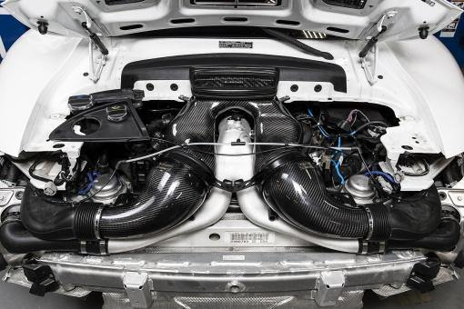 Porsche 991 Turbo IPD Y-Pipe - MGC Suspensions