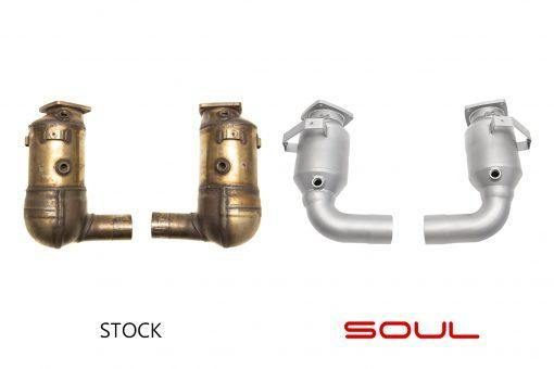 SOUL Performance Porsche 991.2 Carrera Base or S (without PSE) Street Exhaust Package - MGC Suspensions