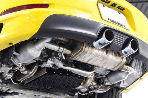 SOUL Performance Porsche 991.2 Carrera (with Factory Sport Exhaust) 200 Cell Catalytic Converters - MGC Suspensions