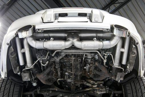SOUL Performance Porsche 996 GT2 Competition X-Pipe Exhaust System - MGC Suspensions