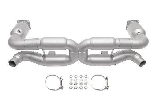 SOUL Performance Porsche 996 Turbo X-Pipe Exhaust System - MGC Suspensions