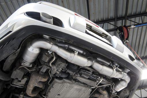 SOUL Performance Porsche 997.2 Turbo X-Pipe Exhaust System - MGC Suspensions