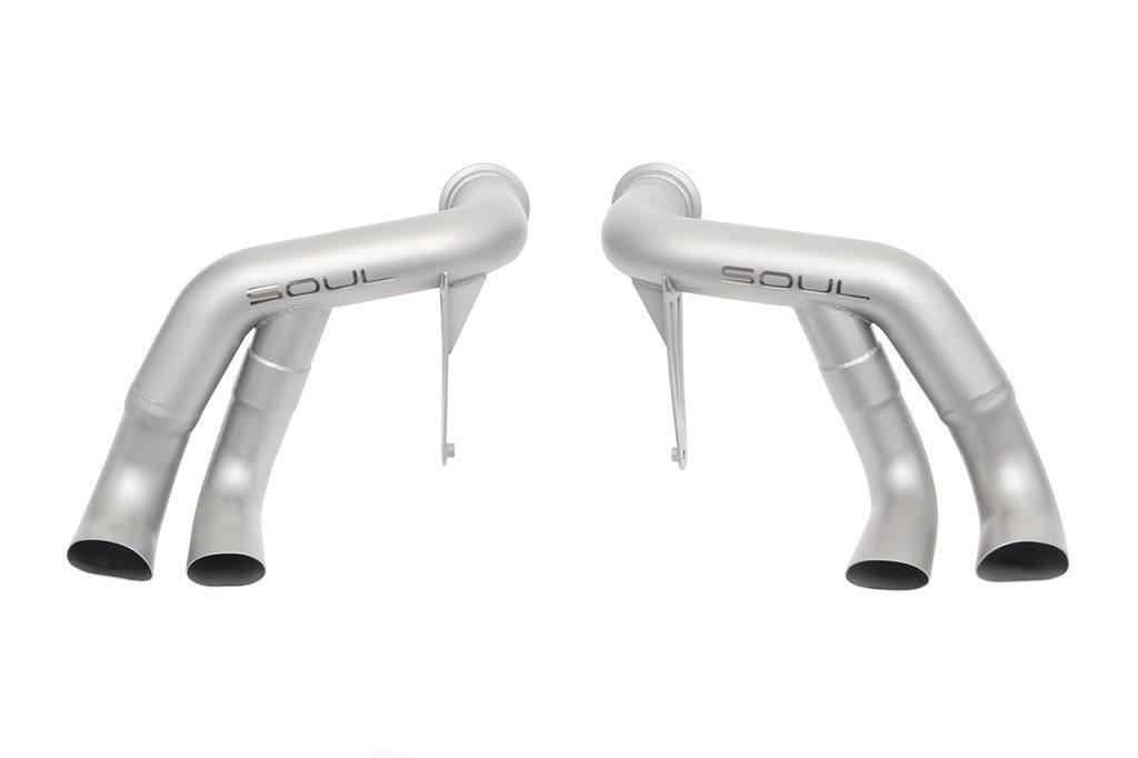 SOUL Performance Audi R8 (2017-2019) Race Exhaust System - MGC Suspensions