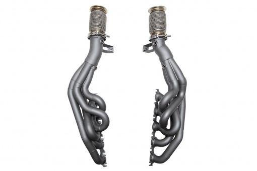 SOUL Performance 2014+ Lamborghini Huracan Competition Headers. Does Not Fit Performante. - MGC Suspensions