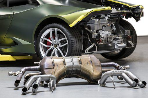 SOUL Performance 2014+ Lamborghini Huracan Race Exhaust System. (Does Not Fit Performante) - MGC Suspensions