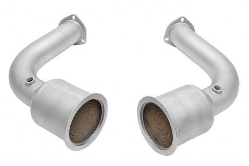 SOUL Performance Audi RS Q8 Sport Catalytic Converter Down Pipes - MGC Suspensions