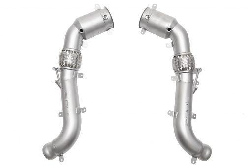 SOUL Performance McLaren 570S / 570GT / 540C 200 Cell Down Pipes