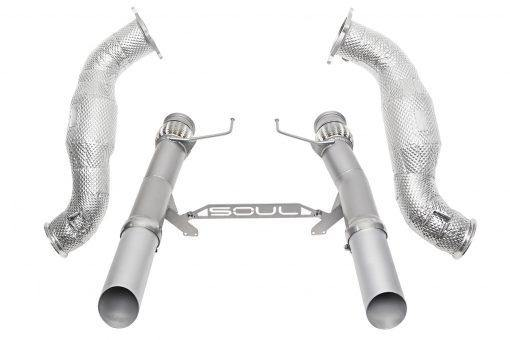 SOUL Performance McLaren 720S 3.5″ Sport Exhaust Package