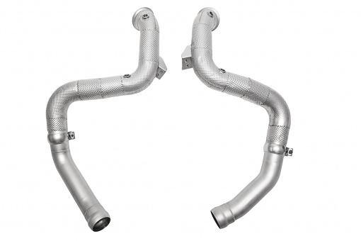 SOUL Performance Mercedes-Benz C63 AMG Competition Down Pipes - MGC Suspensions