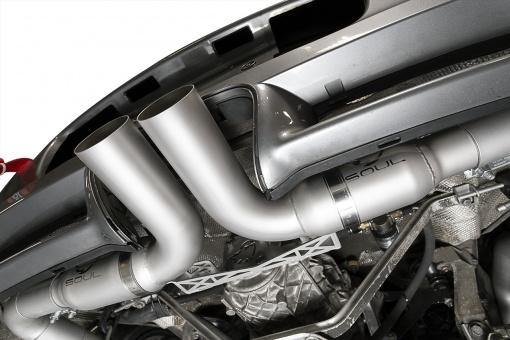SOUL Performance 2009-12 Porsche 987.2 Boxster / Cayman Race Exhaust System. Fits All Models.-SOUL Performance-MGC Suspensions