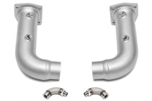 SOUL Performance Porsche 991 Turbo Cat Bypass Pipes - MGC Suspensions