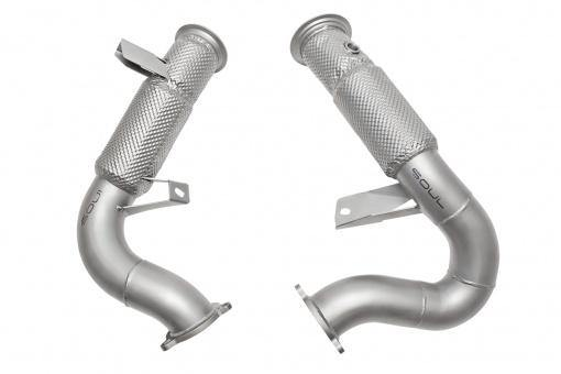 SOUL Performance 2014-18 Porsche Macan / S / GTS / Turbo Competition Down Pipes - MGC Suspensions