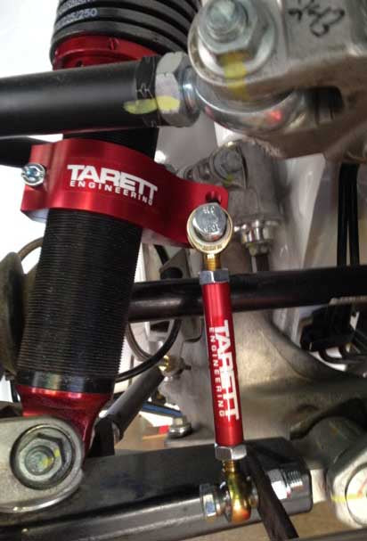 Tarett Rear Drop Link Brackets for All 1995-2004 Porsche 993 and 996 with Coilovers. (DLBRKT03KT) - MGC Suspensions