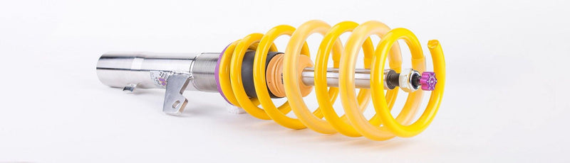 KW V2 Series Coilover Kit for 1995-99 BMW E36 3-Series Compact (Hatchback). 318ti