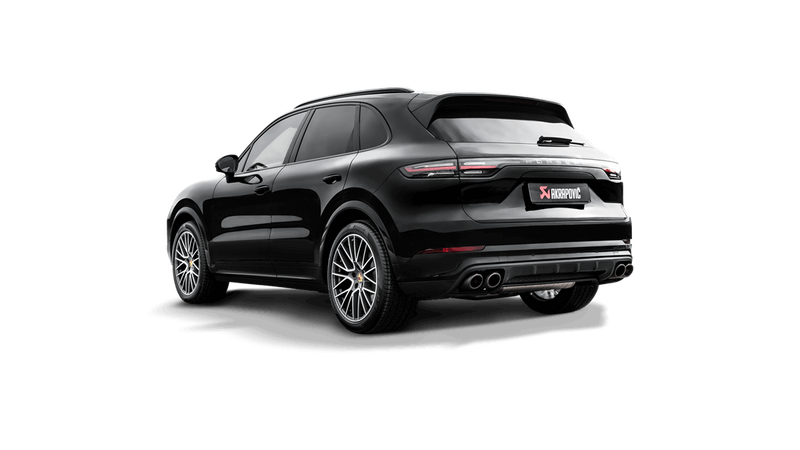 Akrapovic 2018+ Porsche Cayenne V6 (536) Evolution Line Cat Back Titanium Exhaust System. Tips Not Included. - MGC Suspensions