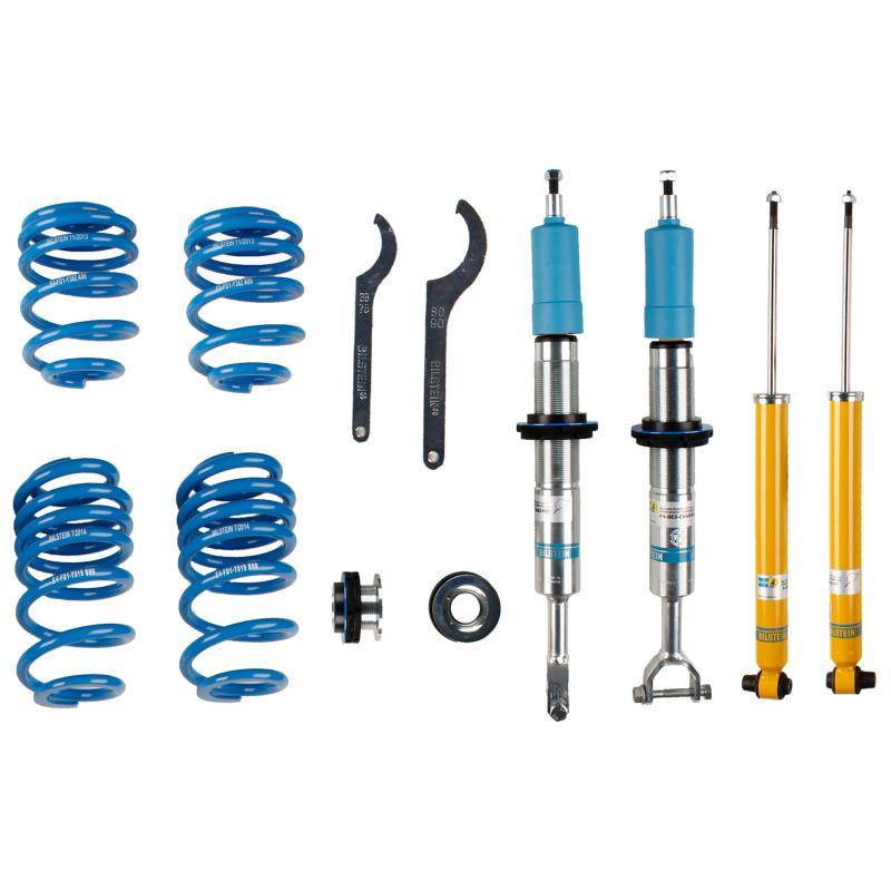 Bilstein B14 1999 Audi A6 Avant Height Adjustable Coilover Kit - MGC Suspensions