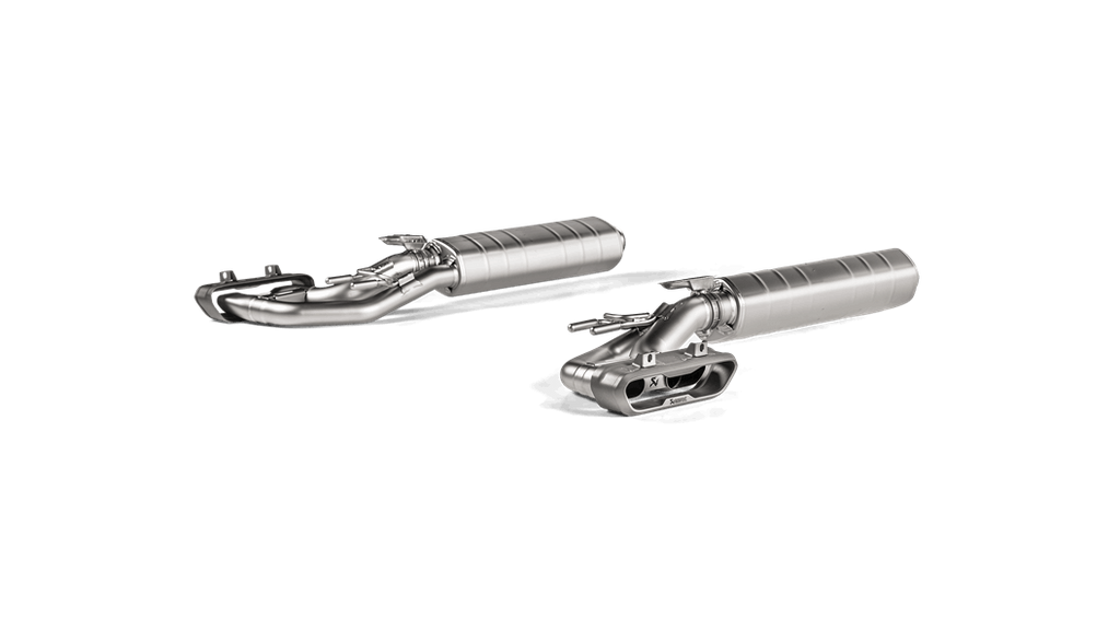 Akrapovic 2019 Mercedes-Benz G63 AMG OPF/GPF Evolution Line Titanium Exhaust System w/ Cat - MGC Suspensions