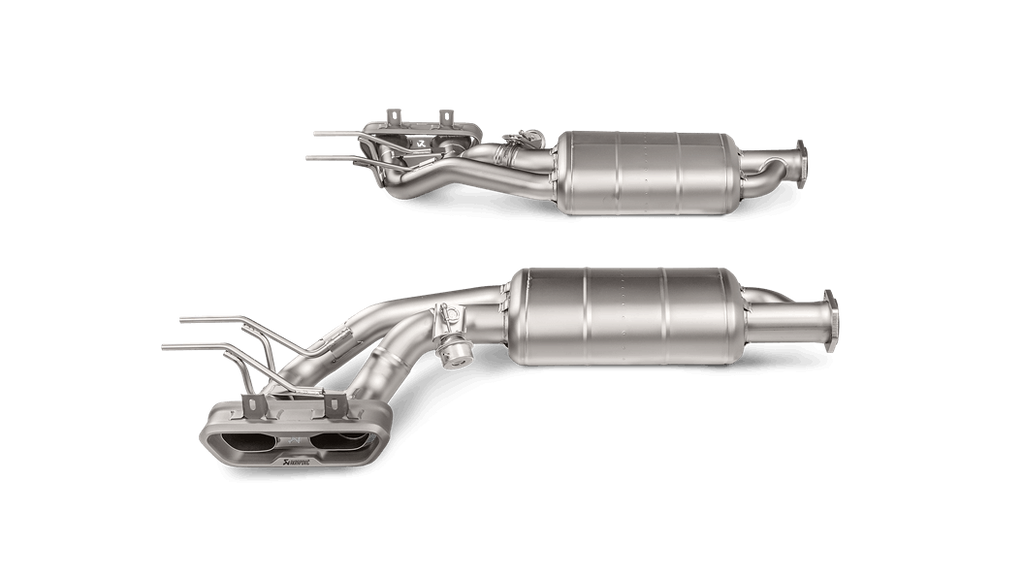 Akrapovic 2015-17 Mercedes Benz G63 AMG (W463) Evolution Line Titanium Cat-Back Exhaust System with Tips & Fittings - MGC Suspensions