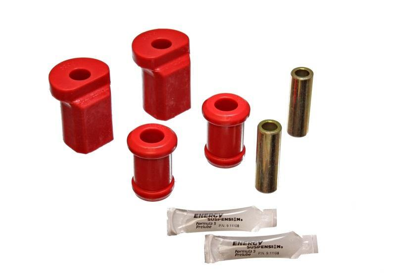 Energy Suspension 79-84 Volkswagen Rabbit Red Front Control Arm Bushing Set - MGC Suspensions