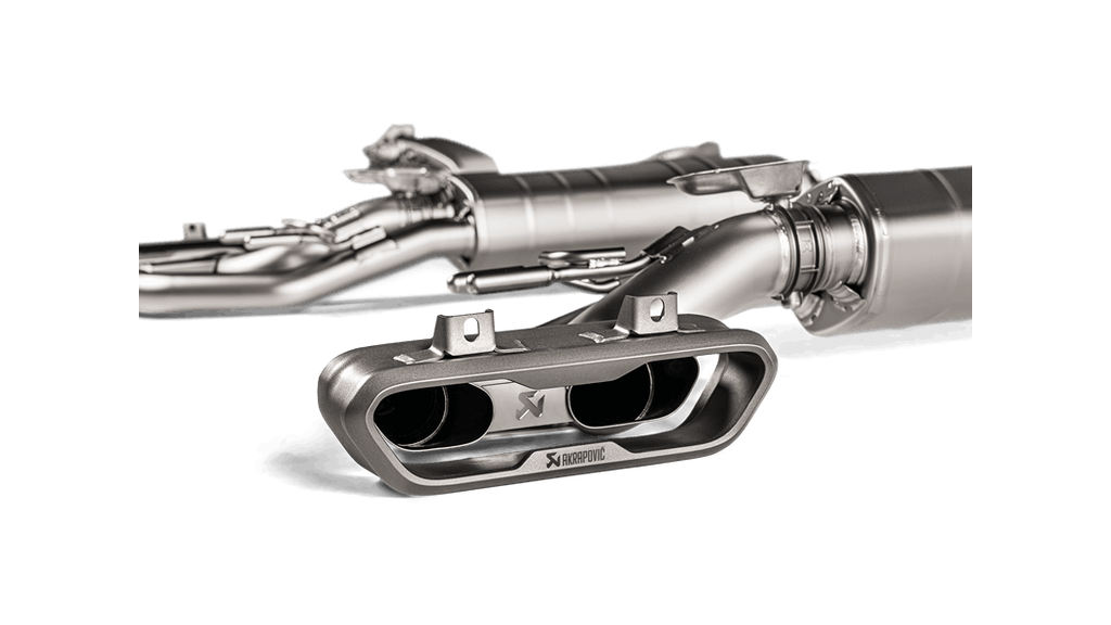 Akrapovic 2019 Mercedes-Benz G63 AMG Evolution Line Titanium Exhaust System w/ Cat - MGC Suspensions