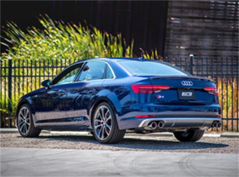 "Borla 2018 Audi S4/S5 3.0L Turbo AT/MT AWD 2-4DR Stainless Steel ""S-Type"" Catback Exhaust - MGC Suspensions"