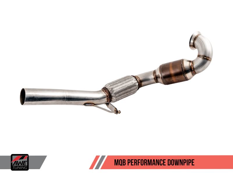AWE Tuning MQB Performance Downpipe - MGC Suspensions
