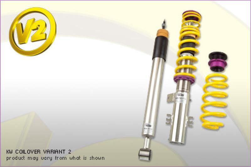KW Coilover Kit V2 Audi A3 Quattro (8P) all engines w/ electronic dampening control - MGC Suspensions