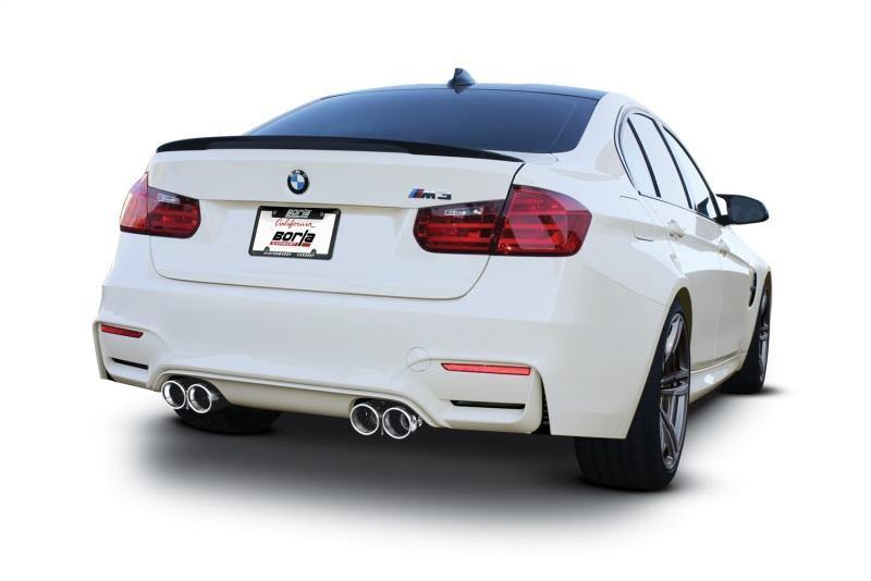 Borla 15-18 BMW F80/F82 M3/M4 36.5in Tip (Dual Split Rear Exit) ATAK Cat-Back Exhaust - MGC Suspensions