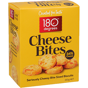 180 Degrees Cheese Bites
