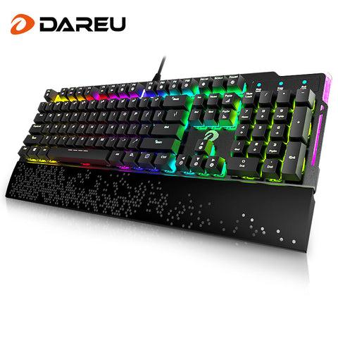 DAREU 104 Keys Mechanical RGB Keyboard With Side Lighting
