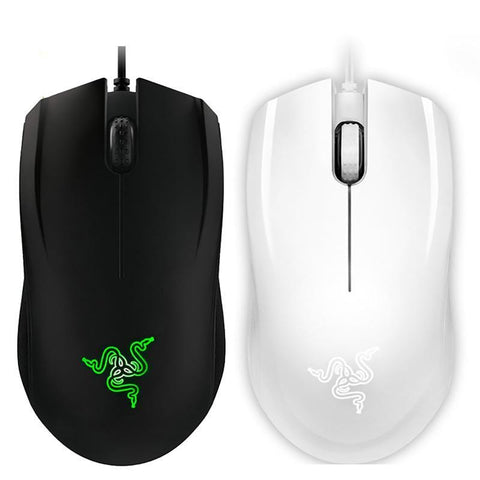 Razer Abyssus Gaming Mouse Essential 3500 DPI PC Gamer USB Wired Ergonomic Ambidextrous Professional For CSGO,Overwatch