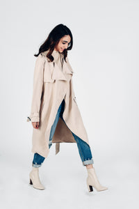 Flowy Trench Light Weight Coat