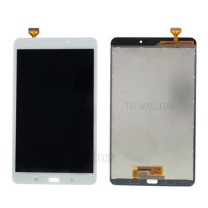 SAMSUNG T380 TOUCH SCREEN AND LCD ASSEMBLY WHITE