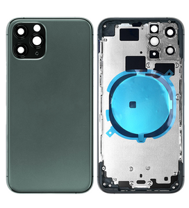 IPHONE 11PRO BACK HOUSING WITHOUT PARTS GREEN