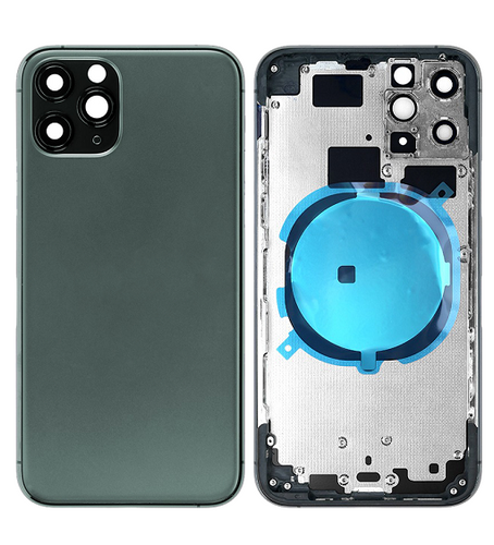 IPHONE 11PRO MAX BACK HOUSING WITHOUT PARTS GREEN