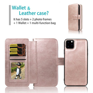 iphone xsmax 6.5 zip wallet case