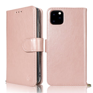 iphone Xsmax 6.5 Wetherby ( Calfskin ) handmade magnetic case with strap