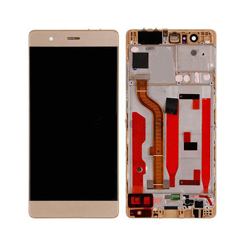 HUAWEI/P9 LCD SCREEN WITH FRAME GOLD