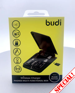 Budi wireless charger M8J515W phones multi-functional box