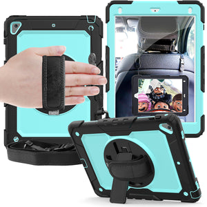 iPad new 9.7 suvivo play strap and shoulder suvivo 360 case (9.7/air 2 fit)