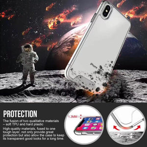 iphone 11pro max 6.5 SPACE TPU PC case