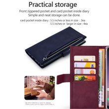iphone i7/8  molan cano bestie zip diary case (i6/7/8 fit)