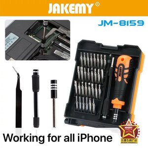 JAKEMY 34 in 1 screwdriver phone repair set JM-8159