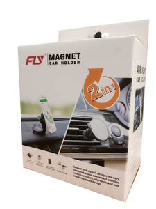 FLY 2 in 1 magnetic car holder 2324