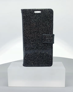 iphone i6 glitter Bluemoon walllet case (i6/i7/i8 fit)