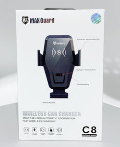 Maxguard wireless car charger holder C8