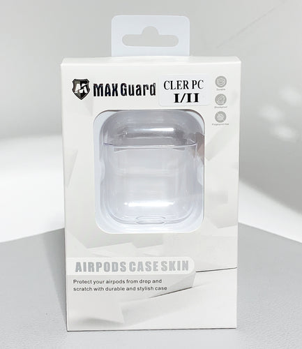 AirPod  (1/2th generations) clear PC hard case