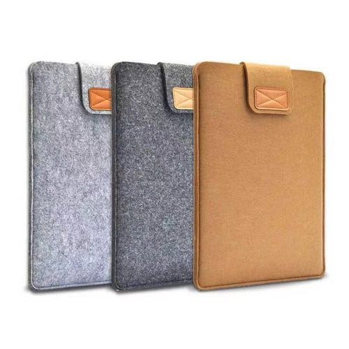 Universal iPad/tablet laptop suede sleeve pouch case