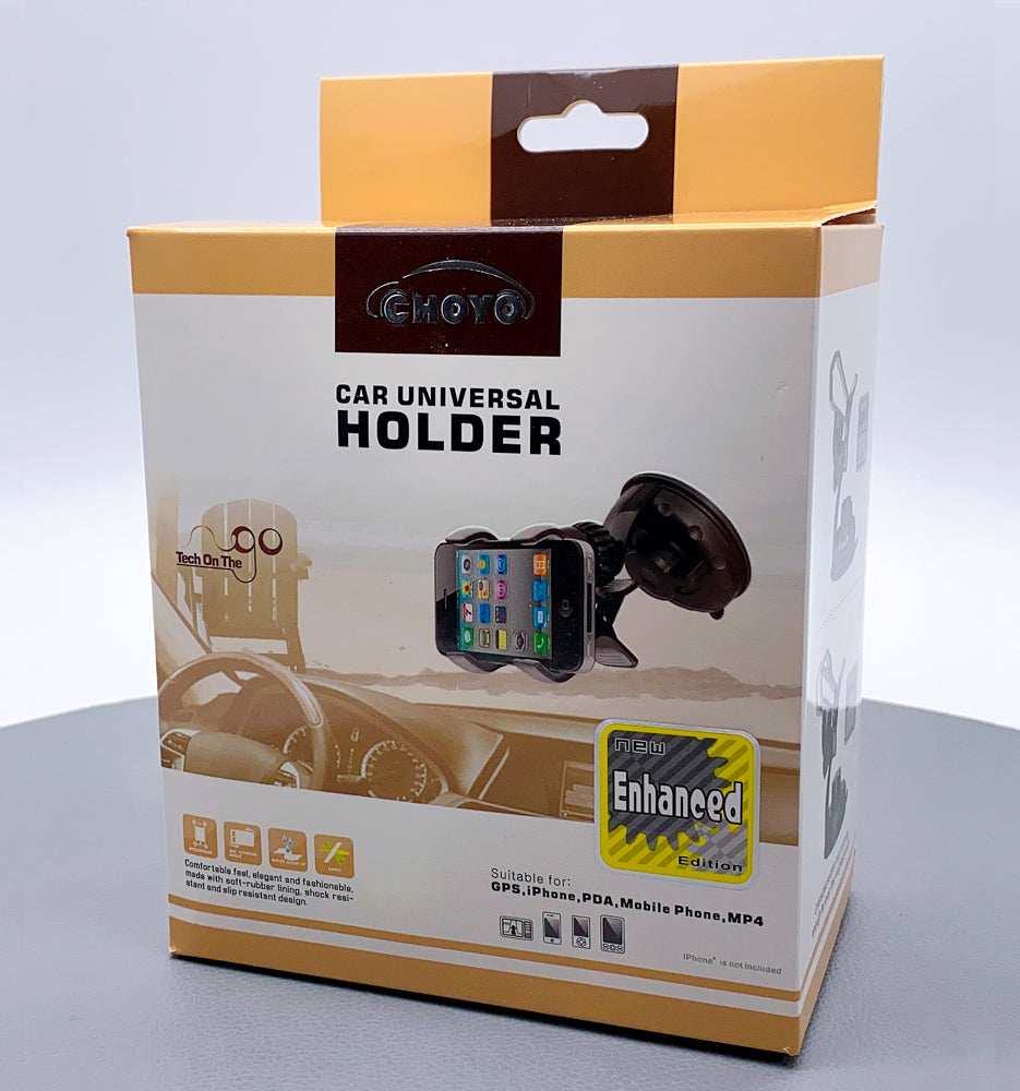 CHOYO dual clip universal mobile phone holder 2227W